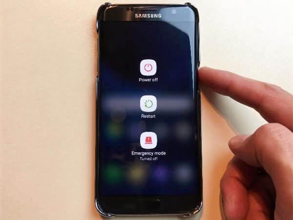 reiniciar Samsung