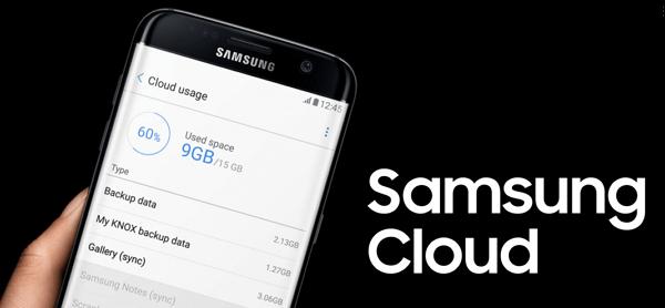 respaldar Samsung en Samsung Cloud