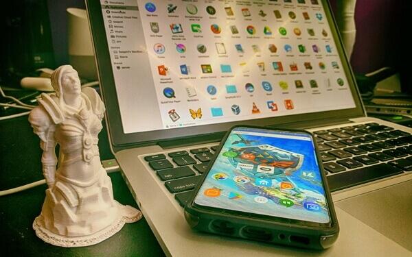 respaldar Samsung a Mac