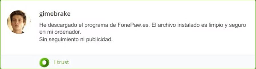 es seguro FonePaw Recuperación de Datos Android