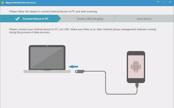 Myjad recuperar datos Android