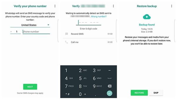 Guía de recuperar datos desde WhatsApp