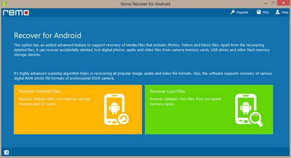Remo recuperar datos Android