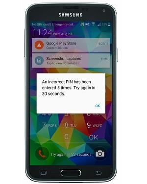 telefono android bloqueado