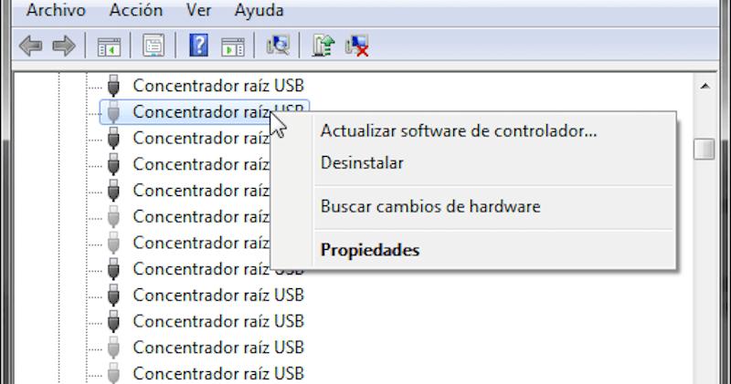 actualizar software de controlador