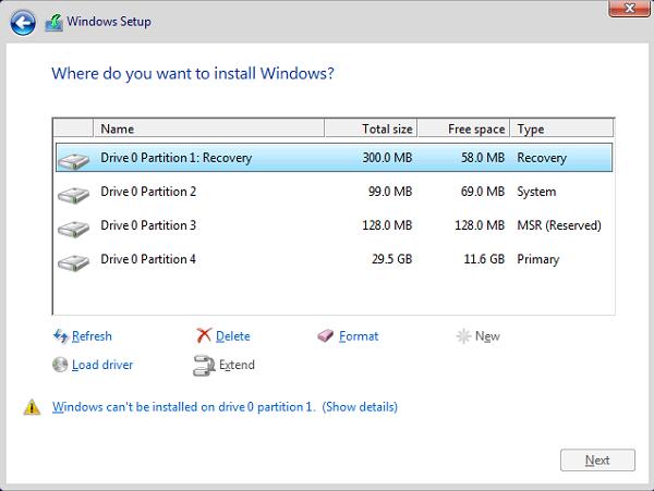 formatear el disco duro en Windows