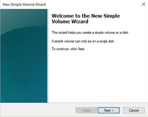 New Simple Volume Asistente