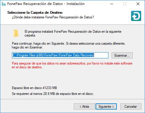 instalar recuperación de datos