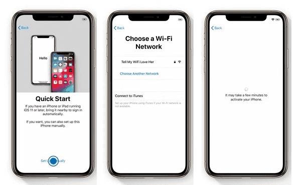 Configurar iPhone sin tarjeta SIM
