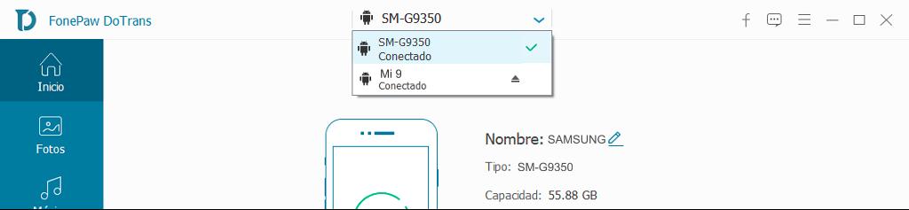 conectar Samsung y Xiaomi a PC