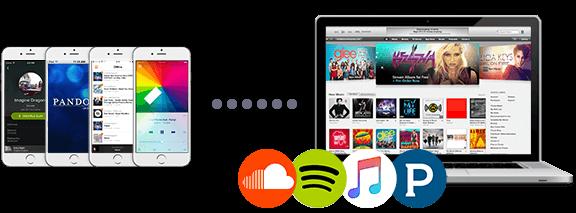 copiar música de PC a iPhone por streaming