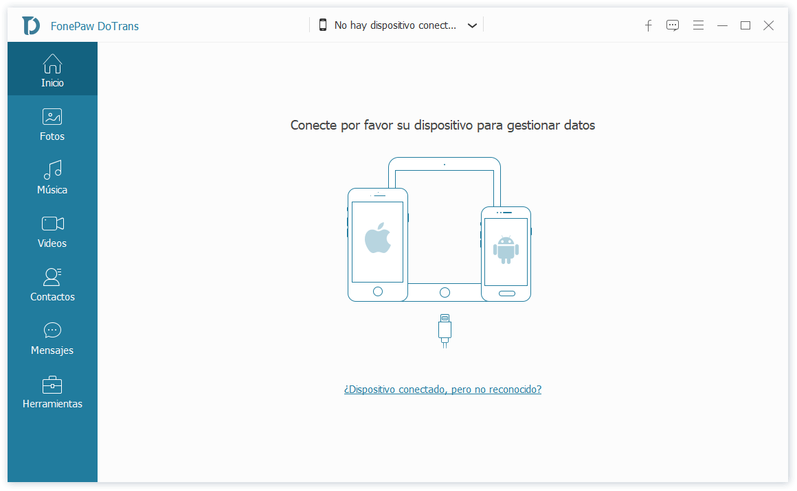 conectar iPhone a DoTrans