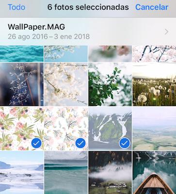 eliminar fotos no deseados en iPhone