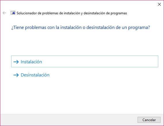 problema con instalación y desinstalación de programas