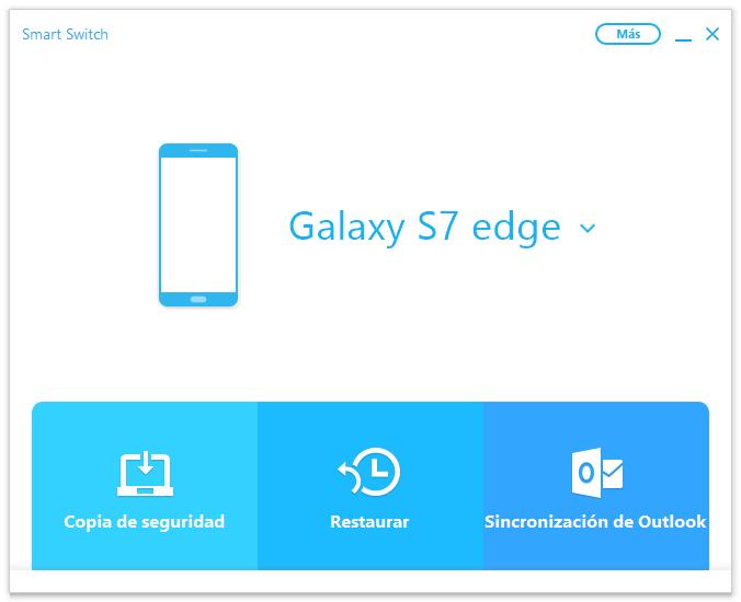 restaurar copia de seguridad a Samsung
