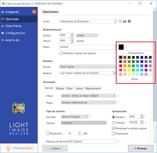 poner bordes de color a fotos