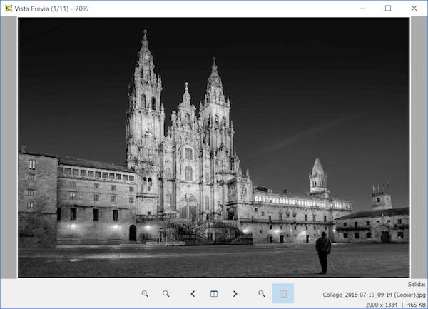 cambiar fotos en blanco y negro