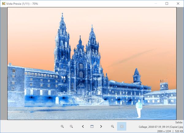 invertir colores de una foto