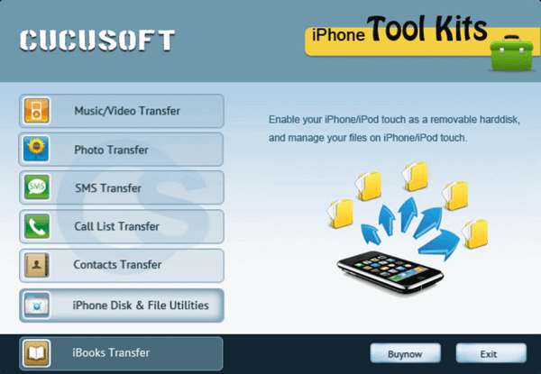 Cucusoft iPhone tool kit