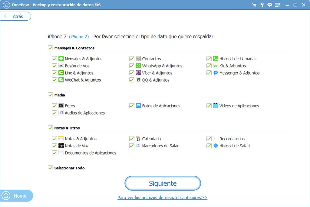 crear copia de seguridad de contactos de iPhone