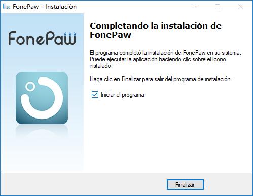 finalizar instalar recuperación de sistema iOS
