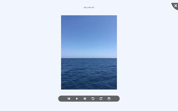 Resultado de visualización foto