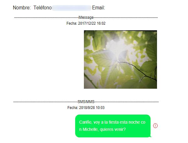 ver mensajes en formato HTML