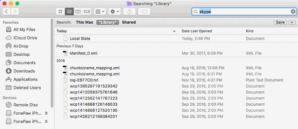 Archivos adicionales Mac