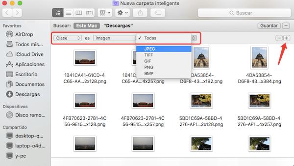 Clasificar las imágenes