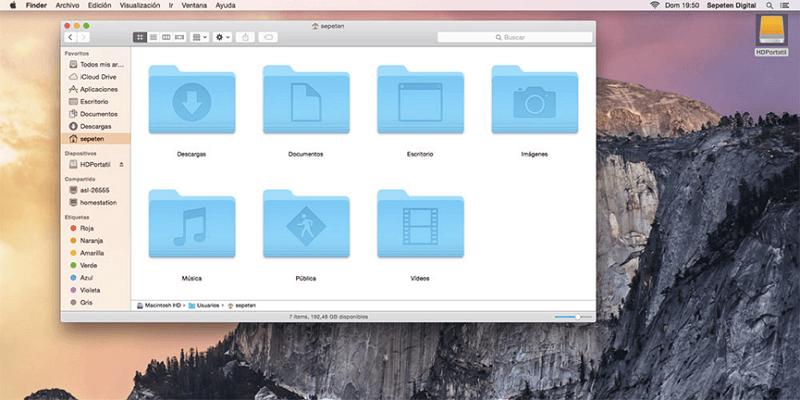 eliminar descargas en Mac