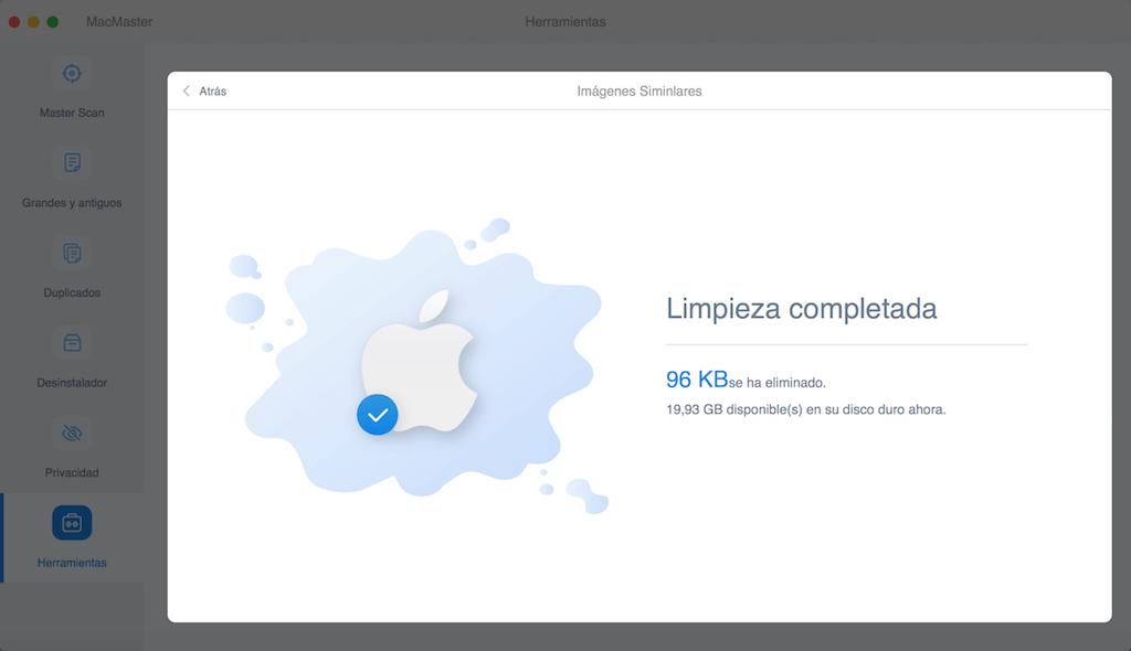 Eliminar las fotos duplicadas en su Mac