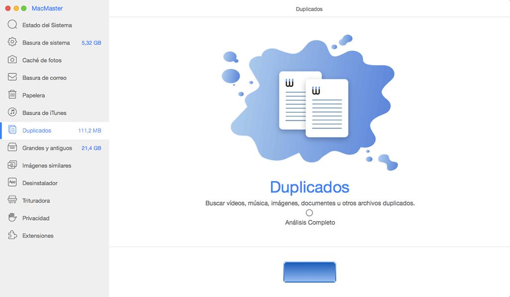 eliminar archivos duplicados en Mac