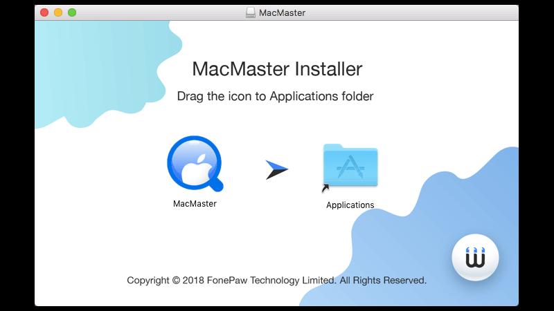 instalar FonePaw MacMaster