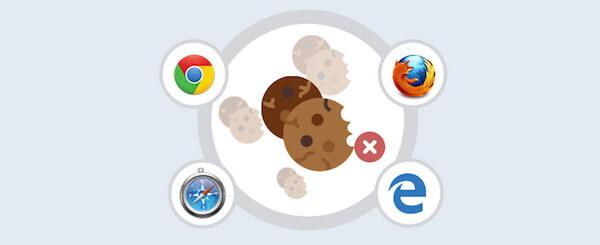 Limpiar cookies de navegadores
