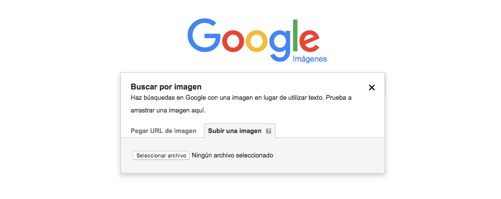 subir una imagen a Google