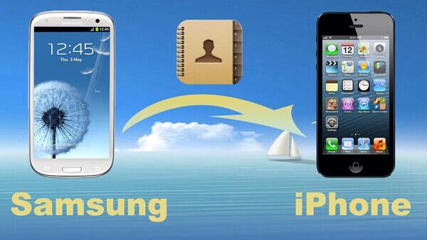 Pasar contactos entre Samsung y iPhone