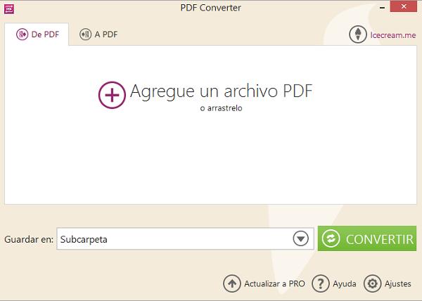 agregar un archivo de pdf