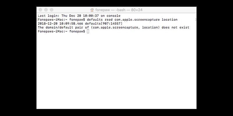 buscar locación donde guarda captura de imagen Mac