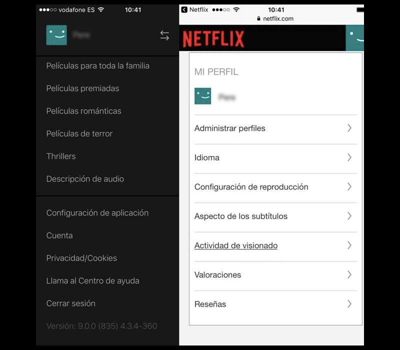cerrar sesión en Netflix