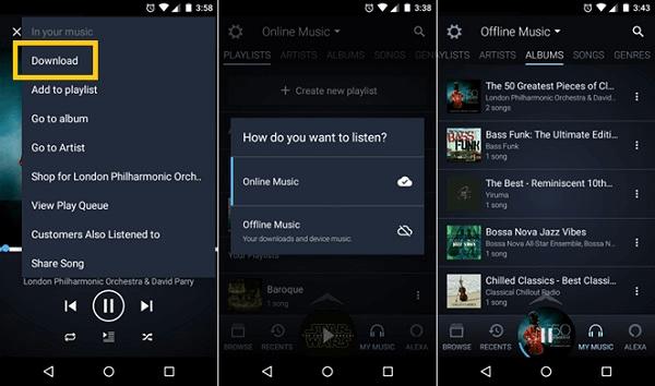 Descargar Amazon Prime Music en Android iPhone