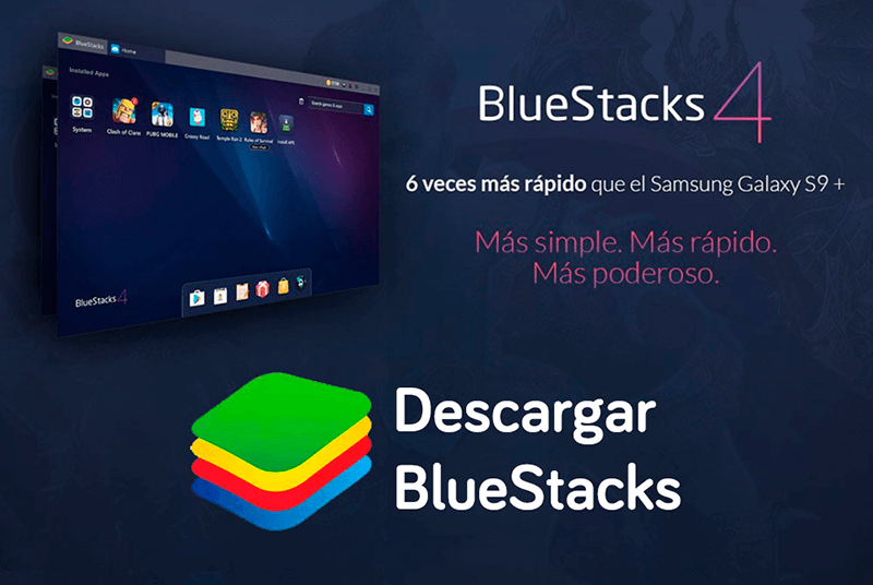 descargar Bluestackes en PC