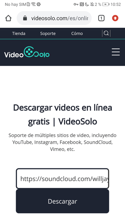 descargar música de SoundCloud en Android