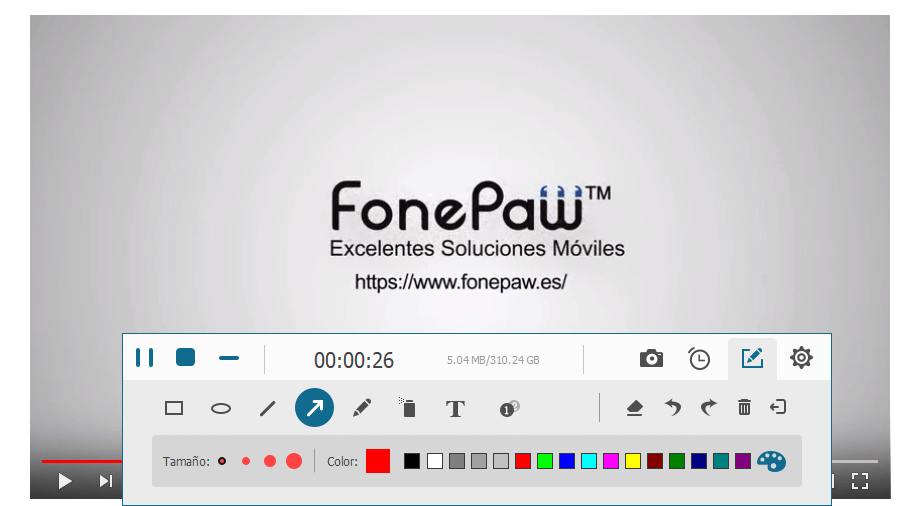 grabar la pantalla como GIF