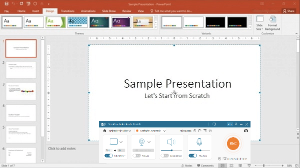 grabar Powerpoint a vídeo