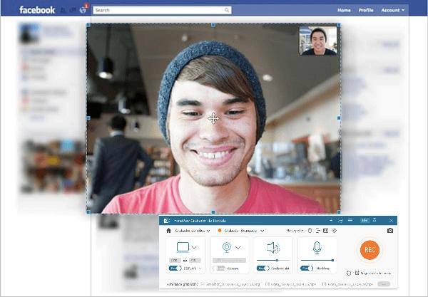 grabar videollamada de Facebook en PC