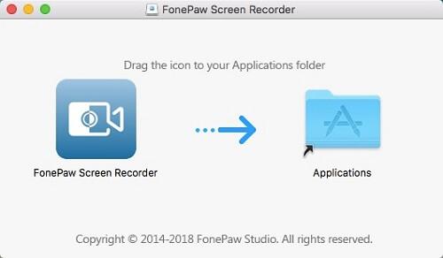 Instalar FonePaw en Mac