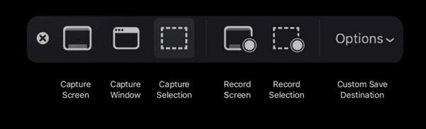 imprimir la pantalla en Mac
