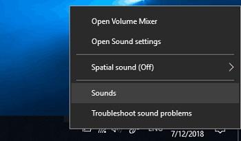 activar panel de sonido
