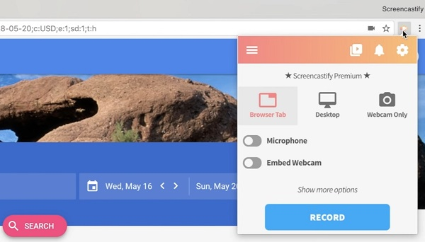 Screencastify Grabador de Pantalla para Chrome