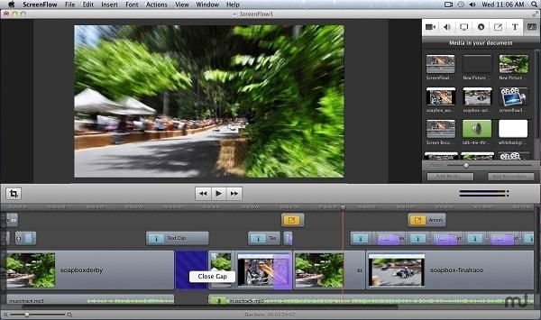 capturar pantalla con ScreenFlow